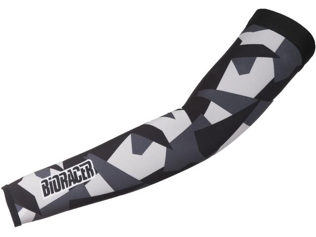 Bioracer Subli Armwarmers grey-bar